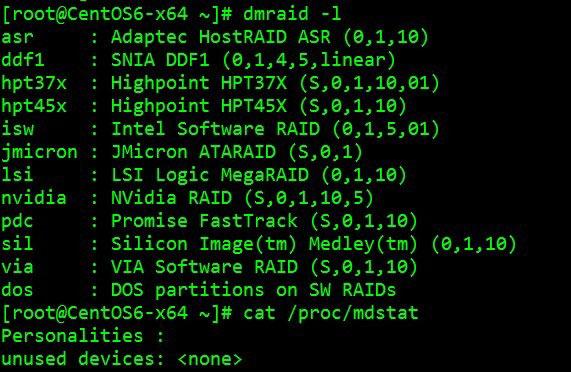 硬RAID、软RAID的区别详解
