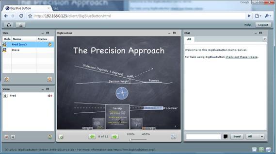 开源视屏会议系统BigBlueButton