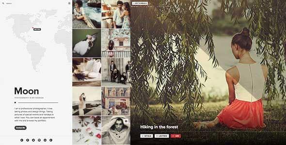 Photography 创意图集/博客/商城 WordPress主题 v2.0
