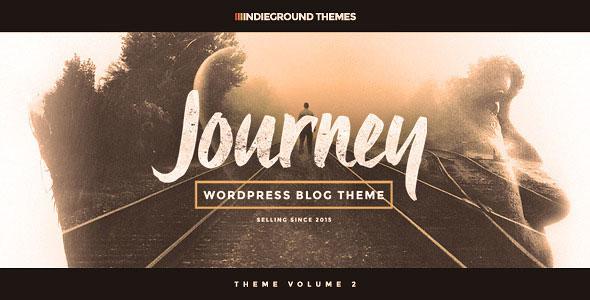 Journey 专业博客 WordPress主题 v1.0.1