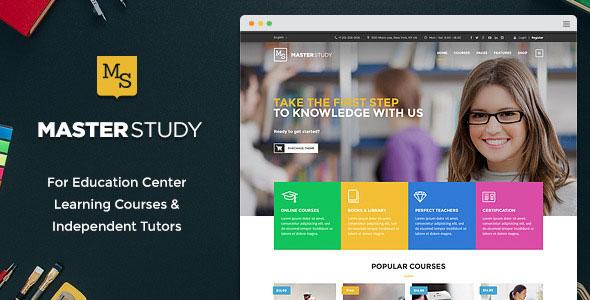 Masterstudy 教育培训WordPress主题 v1.3.1