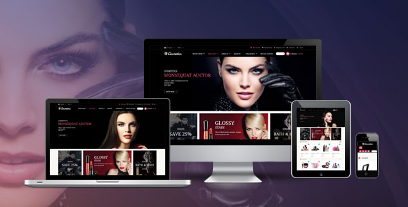 Pav Cosmetics 购物商城 OpenCart主题